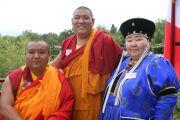 Далай-лама открыл буддийский монастырь на горе Салев