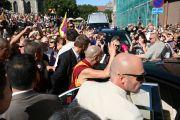 Фоторепортаж. Его Святейшество Далай-лама в Эстонии