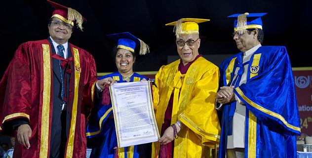 Далай-лама открыл Центр тибетских исследований в Дели