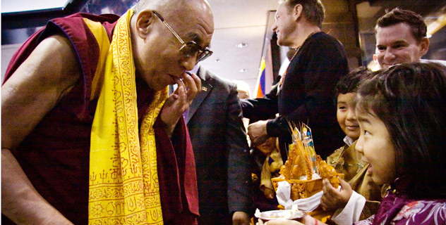Его Святейшество Далай-лама прибыл в Монреаль