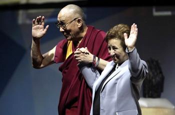 Его Святейшество Далай-лама встретился с президентом Мексики
