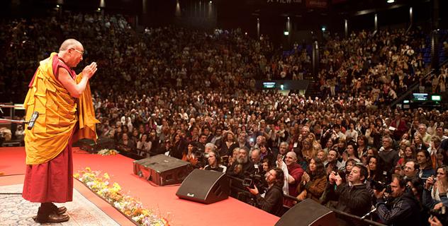 В Буэнос-Айресе Его Святейшество Далай-лама прочитал лекцию для шести с половиной тысяч человек