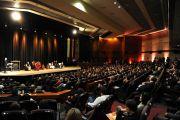 Встреча Его Святейшества Далай-ламы с промышленниками и предпринимателями Бразилии. Сан-Паулу, Бразалия. 15 сентября 2011 г.