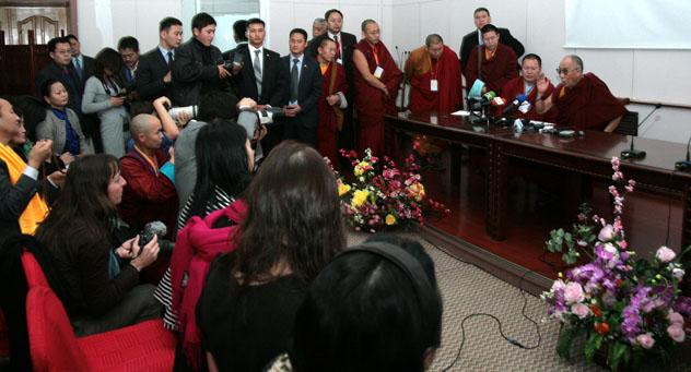 Заключительная пресс-конференция в Монголии