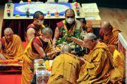 Во время посвящения Ваджрадхату. Коясан, Япония. 2 ноября 2011. Фото: Кимимаса Маяма