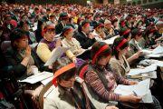 Во время посвящения Ваджрадхату. Коясан, Япония. 2 ноября 2011. Фото: Тензин Чойджор (Офис ЕСДЛ)