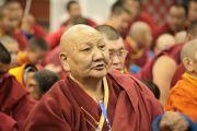 Учения Его Святейшества Далай-ламы по основополагающим буддийским трактатам для широкой публики. Улан-Батор, Монголия. 8 ноября 2011. Фото: Игорь Янчоглов