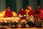 Лекция Его Святейшества Далай-ламы. Улан-Батор, Монголия. 9 ноября 2011. Фото: Игорь Янчоглов