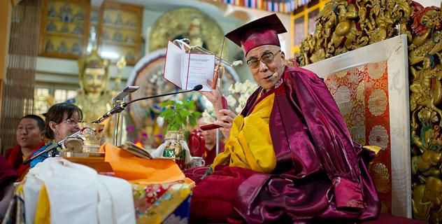 Далай-лама стал почетным профессором Тувинского госуниверситета
