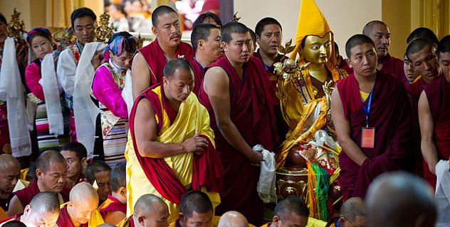 Молебен о долгой жизни Его Святейшества Далай-ламы