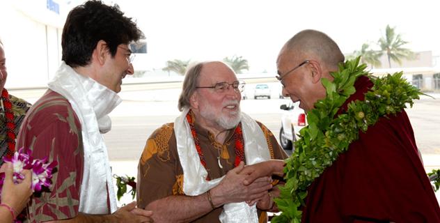 Его Святейшество Далай-лама начал визит в США с посещения штата Гавайи