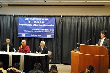 Его Святейшество Далай-лама встретился с китайскими студентами в Рочестере, штат Миннесота