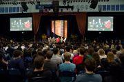 Во время проведения круглого стола, посвященного изменениям климата в Калифорнийском университете в Сан-Диего. Сан-Диего, штат Калифорния. 18 апреля 2012 г. Фото: Тим Мантоани