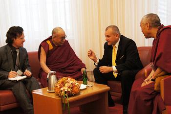 Второй день пребывания Его Святейшества Далай-ламы в Мариборе, Словения