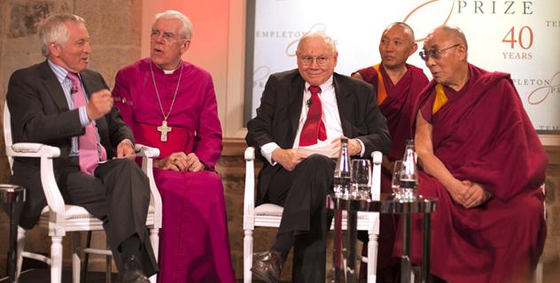 Его Святейшеству Далай-ламе вручена Темплтоновская премия 2012 года