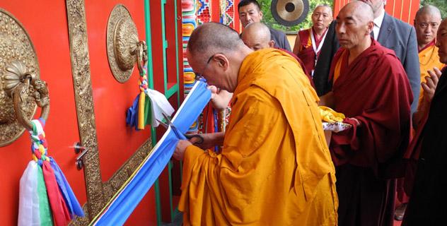 В Бельгии Далай-лама встретился с тибетцами и освятил новый буддийский храм