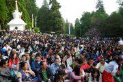На встречу с Его Святейшеством Далай-ламой в институте Йонтен Линг собрались около 2000 тибетцев и представителей монгольских народностей. Юи, Бельгия. 24 мая 2012 г. Фото: Джереми Рассел (Офис ЕСДЛ)