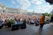 На европейский митинг солидарности с Тибетом собрались 10000 человек. Вена, Австрия. 26 мая 2012 г. Фото: Тензин Чойджор (Офис ЕСДЛ)