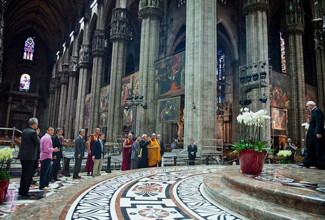 Учения Его Святейшества Далай-ламы в Милане