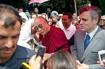 Его Святейшество Далай-лама впервые посетил Кашмирскую долину