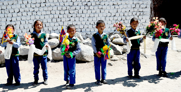 Его Святейшество Далай-лама прибыл в Ладак с 20-дневным визитом