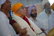 Его Святейшество Далай-лама в гурудваре Чатти Падшахи в Шринагаре. Штат Джаму и Кашмир, Индия. 17 июля 2012 г. Фото: Тензин Чойджор (Офис ЕСДЛ)