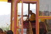 Второй день учений Его Святейшества Далай-ламы в Падуме, Занскар. Штат Джамму и Кашмир, Индия. 30 июля 2012 г. Фото: Тензин Такла (Офис ЕСДЛ)