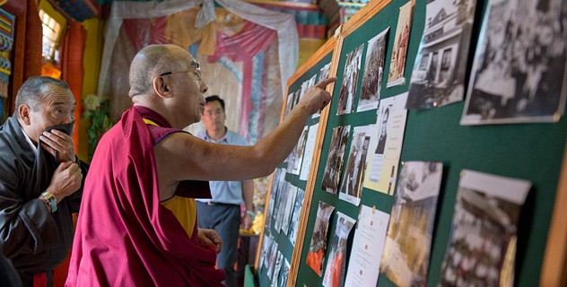 Его Святейшество Далай-лама принял участие в праздновании юбилея фонда «Тибетские дома» в Массури