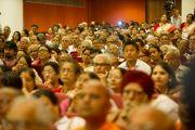 Некоторые из участников первого заседания Всемирной встречи во имя мира и гармонии. Дели, Индия. 11 сентября 2012 г. Фото: Тензин Чойджор (Офис ЕСДЛ)