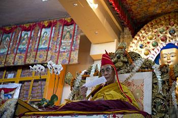 Заключительный день учений Его Святейшества Далай-ламы для последователей из Тайваня