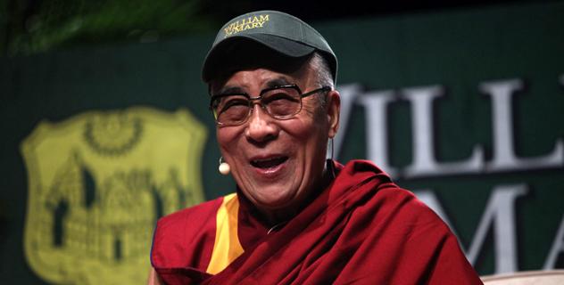 Его Святейшество Далай-лама беседует о сострадании со студентами Колледжа Вильгельма и Марии