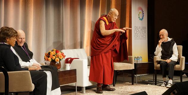 Его Святейшество Далай-лама беседует об этике, ценностях и благополучии в Бостоне