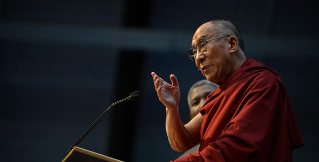 Его Святейшество Далай-лама говорил в Миддлберийском колледже об этике для всего мира