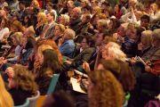 """Во время заседания форума """"Глобальные системы 2.0"""", который проходил в Массачусетском технологическом институте. Бостон, штат Массачусетс, США. 15 октября 2012 г. Фото: Christopher Michel"""