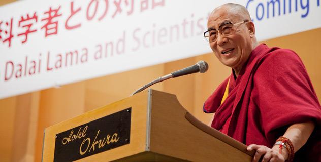 Его Святейшество Далай-лама встретился в Токио с учеными