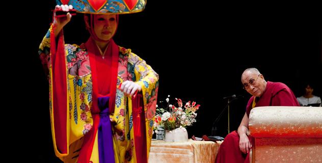 Его Святейшество Далай-лама посетил Окинаву