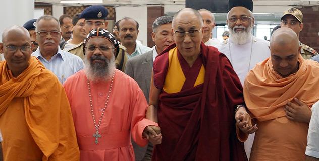 Его Святейшество Далай-лама прибыл в Тируванантапурам