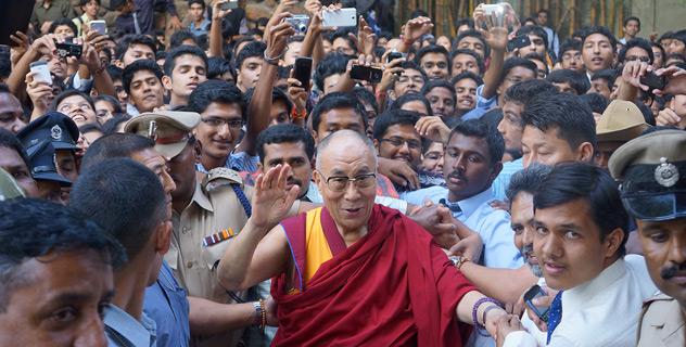Его Святейшество Далай-лама прибыл в Бангалор