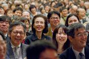 Во время встречи Его Святейшества Далай-ламы с японскими учеными. Токио, Япония. 6 ноября 2012 г. Фото: Office of Tibet Japan