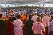 Более 100 тысяч человек собрались на торжества по случаю 100-летия автокефалии Маланкарской Православной Сирийской Церкви Индии. Кочи, штат Керала, Индия. 25 ноября 2012 г. Фото: Тензин Чойджор (офис ЕСДЛ)