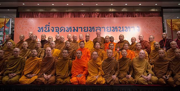 Второй день тибетско-тайского диалога