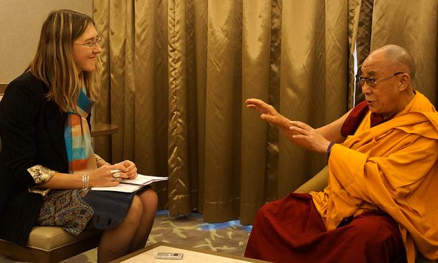 Второй день учений Его Святейшества Далай-ламы для буддистов из России