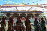 Монастырь Дрепунг Лоселинг, место проведения торжеств по случаю 23-летия вручения Далай-ламе Нобелевской премии мира. Мандгод, Индия. 10 декабря 2012 г. Фото: Тензин Чойджор (офис ЕСДЛ)
