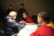 Фоторепортаж. Учения для буддистов России в Дели