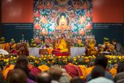 Его Святейшество Далай-лама дарует учения для российских буддистов в Нью-Дели, Индия. 26 декабря 2012 г. Фото: Тензин Чойджор (Офис ЕСДЛ)