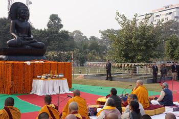 В Патне Его Святейшество Далай-лама был гостем главного министра штата Бихар