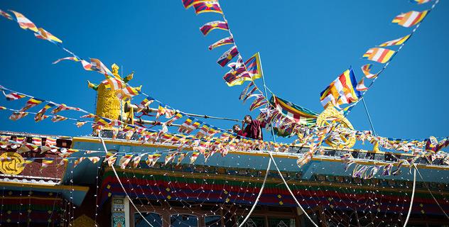 Eго Святейшество Далай-лама прибыл на юг Индии