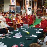Сознание. Четвертый день конференции института «Ум и жизнь» в монастыре Дрепунг