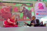 Дээрхийн Гэгээнтний Жайпур дахь айлчлал. Энэтхэг, Жайпур. 2013.1.24