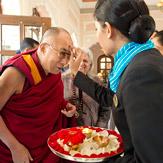 Далай-лама посетил литературный фестиваль в Джайпуре